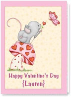 Personalized Valentine's Day Card #2004478-p