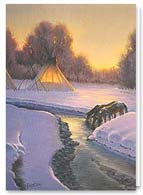 Native American Christmas Card | 74232